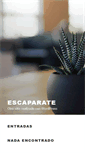 Mobile Preview of escaparate.info